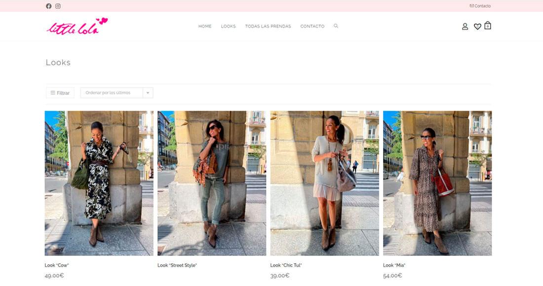 diseño de tiendas de ropa online